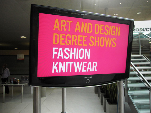 fashion knitwear screen