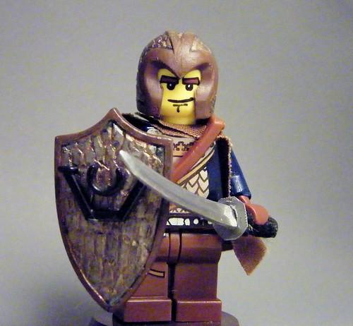 Custom minifig Forest Knight