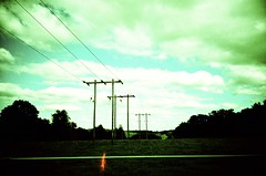 green power | Lomo LC-A (lomostream) Tags: sky green lines clouds analog iso100 lomo lca xpro lomography power cross sweden powerlines crossprocessing electricity agfa xprocessing ctprecisa agfact agfactprecisaiso100