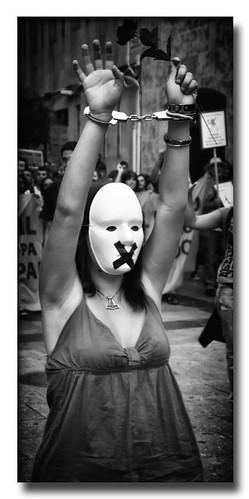 Manifestación (2) by Andrés Ñíguez