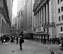 Corner of Wall St. and Broad St., NYSE (Dan_DC) Tags: wallstreet financialdistrict downtown lowermanhattan newyorkcity newyork nyse newyorkstockexchange broadstreet finance legacy heritage unitedstatesofamerica usa trading marketplace