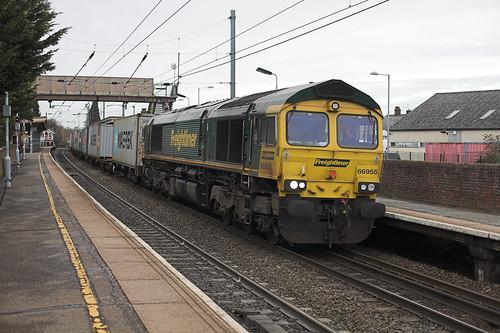 66955 at Stowmarket