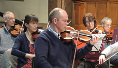 DSCN7010c Ealing Symphony Orchestra rehearsal. Leader Peter Nall. Conductor John Gibbons. 11th February 2017. St Barnabas Church, Ealing, west London. (Photo: Lucy Robinson) (Paul Ealing 2011) Tags: ealing symphony orchestra eso leader peter nall conductor john gibbons 11th 11 february 2017 st barnabas church west london music valentine festival 8th 12th concert rehearsal film