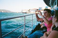 ferry to princes islands (immu) Tags: sea people girl turkey photography boat europe istanbul princesislands
