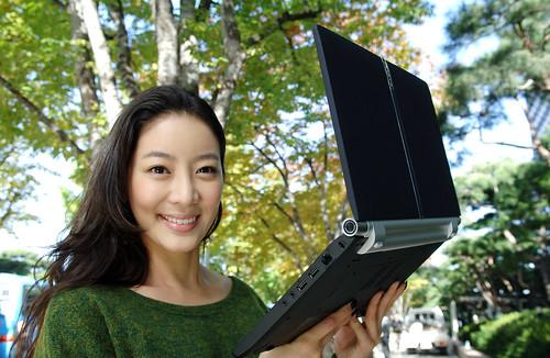 LGEPR님이 촬영한  '윈도 7' 탑재한 울트라 씬 노트북 출시 .