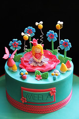 Magical Rose Fairy (Bella Cupcakes (Vanessa Iti)) Tags: birthday roses fairy colourful snails magical