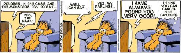 Garfield: Lost in Translation, October 29, 2009