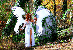 dawn2 (yayahan.com) Tags: angel joseph dawn for michael costume wings heaven cosplay earth birth egg hell goddess redhead demon devil cry yaya rebirth han linsner angelicstar