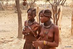 DSC03012 (benti.namibia) Tags: africa red people woman girl african traditional culture tribal safari topless afrika frau tribe ochre ethnic namibia mdchen tribo indigenous kaokoveld himba afrique traditionell ethnology indigen tribu opuwo namibie obenohne kaokoland maedchen kaoko tribus ethnie eingeboren