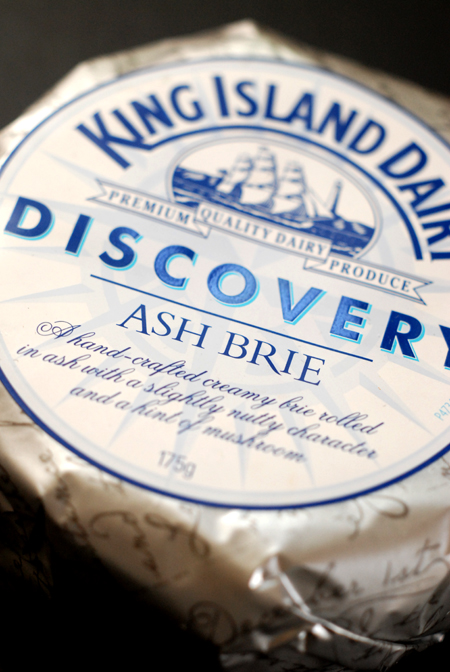 king island ash brie© by Haalo