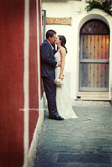 .italian alley. (jagg.girl) Tags: wedding italy groom bride positano jagg betharmsheimertexture