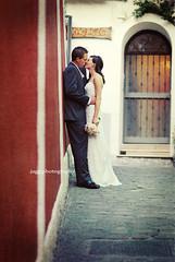 .italian alley. (jagg.girl) Tags: wedding italy groom bride positano jagg betharmsheimertexture