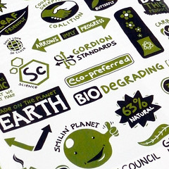 EcoLabels Detail (lunchbreath) Tags: magazine energy article commission ecodesign editorialillustration infotoons lunchbreath logoslabels