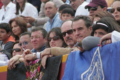Ganaderos roberto Puga y Juan Manuel Roca Rey
