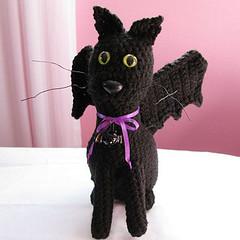 Bat-Cat Plushie