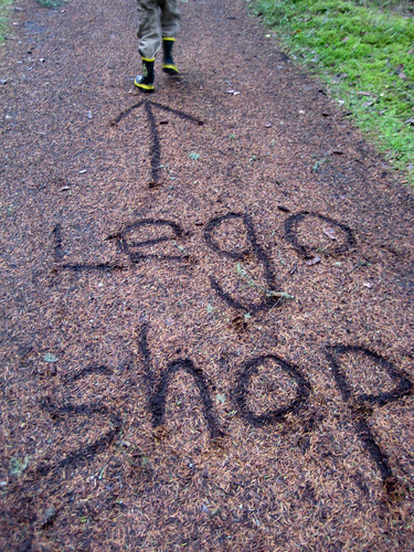 Lego shop ahead?