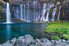 An Alcove of Falls (Phijomo) Tags: nature japan outdoors nikon rocks scenic waterfalls   shiraitofalls d80 nikond80 phijomo philipjmonahan fujifivelakesregion