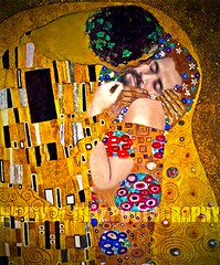 365 Days: Day 336 -- Kissed By Love (Henry M. Diaz) Tags: selfportrait love newyorkstate homosexual thekiss gaymarriages project365 365days gustaveklimt flickr365 365daysbutsmaller henrymdiaz
