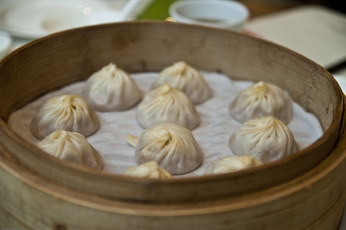 Possibly the best and most expensive xiaolongbao in Shanghai