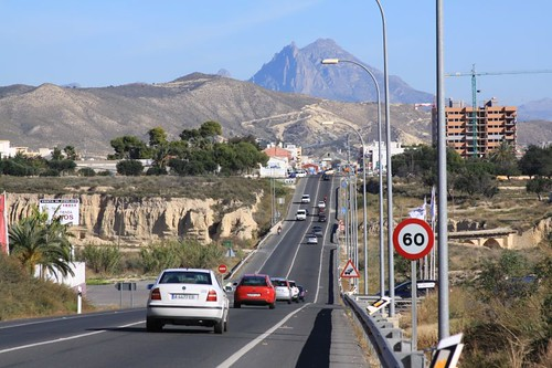 Near Villajoyosa...