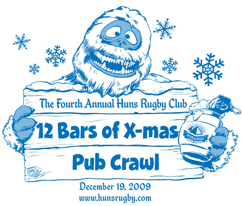 Huns 12 Bars of X-mas 2009