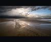 Let's go to the beach.. (Dani℮l) Tags: cloud storm holland reflection beach wet netherlands dutch strand island photo wadden san angle daniel tag tide wide nederland groningen thunder friesland schiermonnikoog eb eiland d300 10mm vloed tagmania 1024mm thinkingofatag