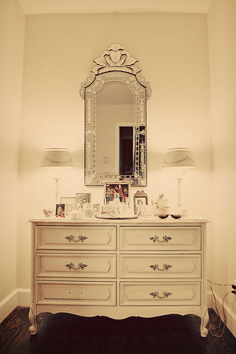 my old dresser.