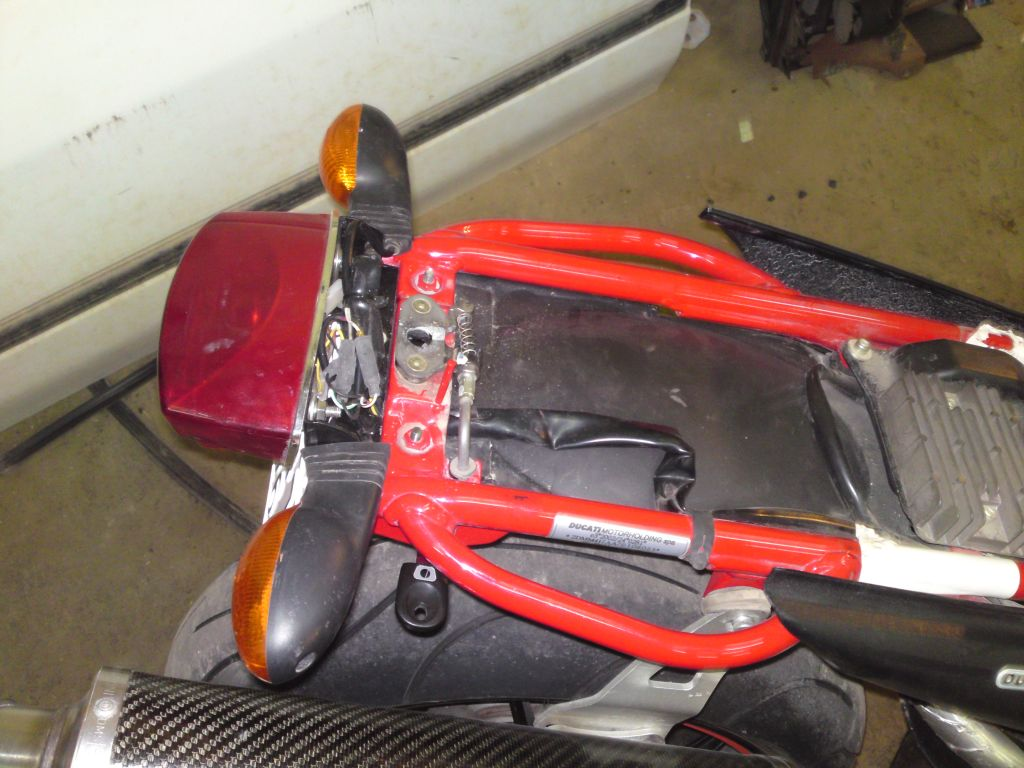 Custom Tail Chop On My S4r Ducati Ms The Ultimate