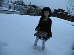 Maria and the snow (els82) Tags: bjd soye narindoll customhouseai naraebutterfly