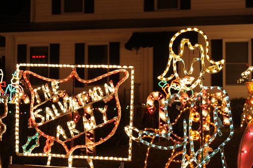 Haldeman Christmas Display