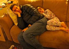 Christmas nap (mathowie) Tags: xmas nap fiona fionahaughey