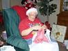 Gram opening up her gift (alimysunshine) Tags: silk sundara silklace