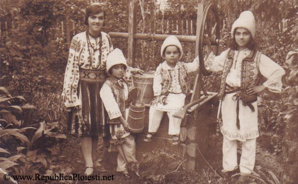 Patru copii ai lui Gheorghe Bogdan