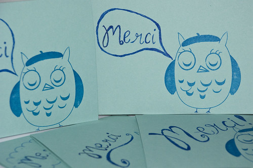 They french owl says Thanks!