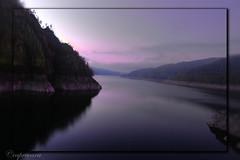 Best of 2009 places i visited: Vidraru lake, Romania (capreoara) Tags: mountain lake reflection water landscape nikon scenery purple romania 2009 vidraru d40 5photosaday