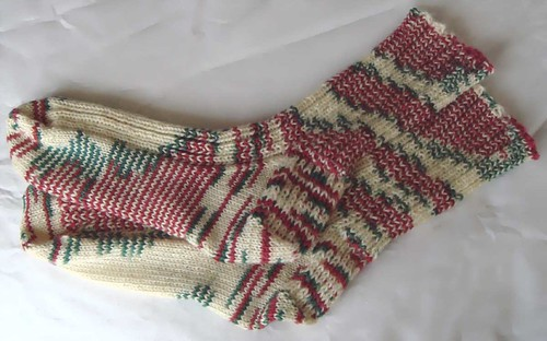 candy cane socks