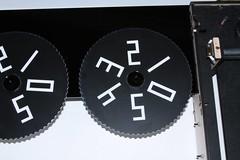 Score wheels on their bearings
