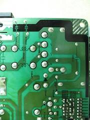 Rectifier pads close up