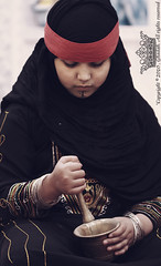 "Saudi girl \   (Q333"" ) Tags: costume folk hijab southern saudi arabia region    the            flowerofislam"