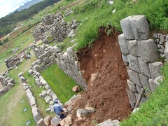 Torrential rains in Cusco damage Inca wall at Sacsayhuamán