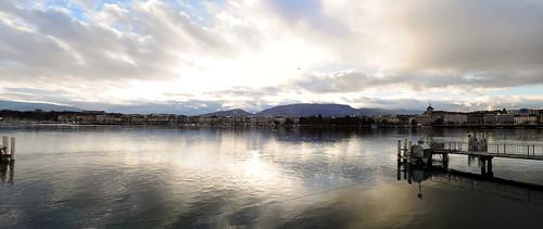 Lake Geneva, by Nizam Fahmi