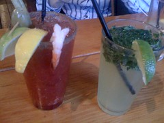 Caesars and Mojito at Timbre