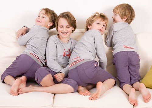 Moda infantil, pijamas con estilo de Opkop