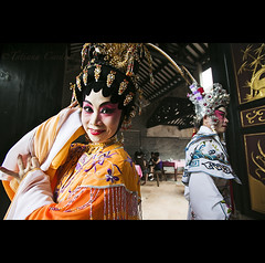 backstage - China ( Tatiana Cardeal) Tags: guangzhou china travel woman digital opera asia village chinese guangdong actress  backstage 2009 canton  canto chatang
