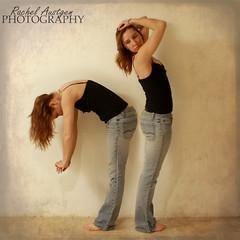 307/365 (Miss.Rachel) Tags: selfportrait texture female hair jeans 365 clone