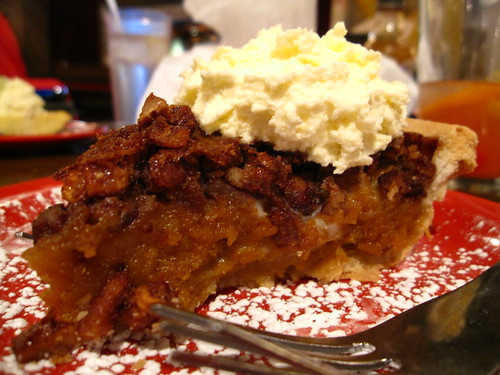 Pecan and Sweet Potato Pie