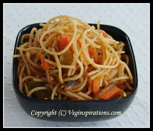Vegetable Chowmein 2