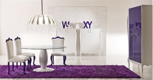 Paars Woonkamer Interieur : Paars interieur wallpapers voor woonkamer ktv plafond abstract