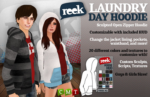 Reek - Laundry Day Hoodie Ad