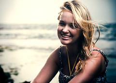 Ally Barnett (Jeremy Snell) Tags: ocean portrait beach 50mm hawaii oahu north shore honolulu haleiwa strobist